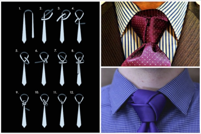Stupendous Get Noticed Seven Eye Catching Tie Knots For The Unusual Man Wiring Digital Resources Cettecompassionincorg