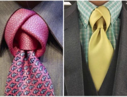 GET NOTICED: Seven Eye-Catching Tie Knots for the Unusual Man